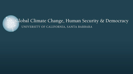 image For the Program for Climate change and Challenge for Human Security and Democracy, University of California, Santa Barbara